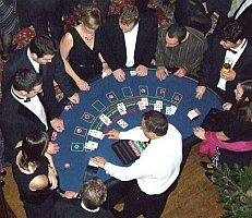 Blackjack Tables for Hire