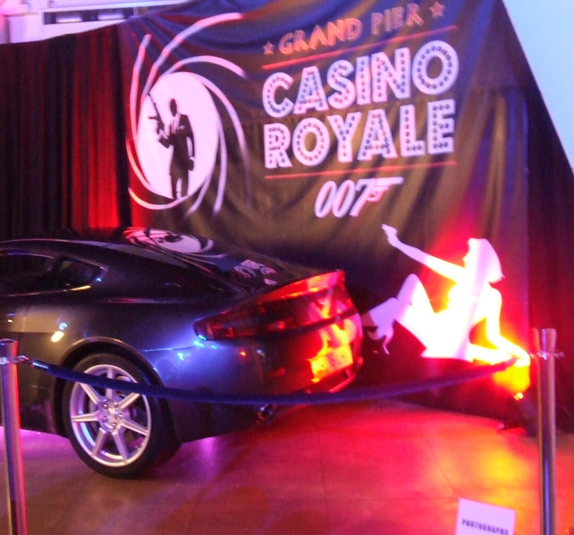 James Bond Theme Night Casino Party Hire Fun
