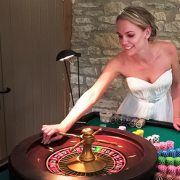 ewdding entertainment ideas somerset 2019 bride plays roulette