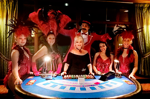 casino table hire somerset