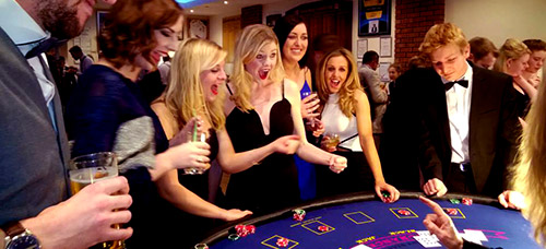 Christmas New Year 2018 Party Ideas Weston super Mare Somerset Bristol Bath Swindon Fun Casino Hire Mobile Blackjack Roulette Tables