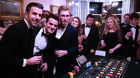 roulette table hire somerset