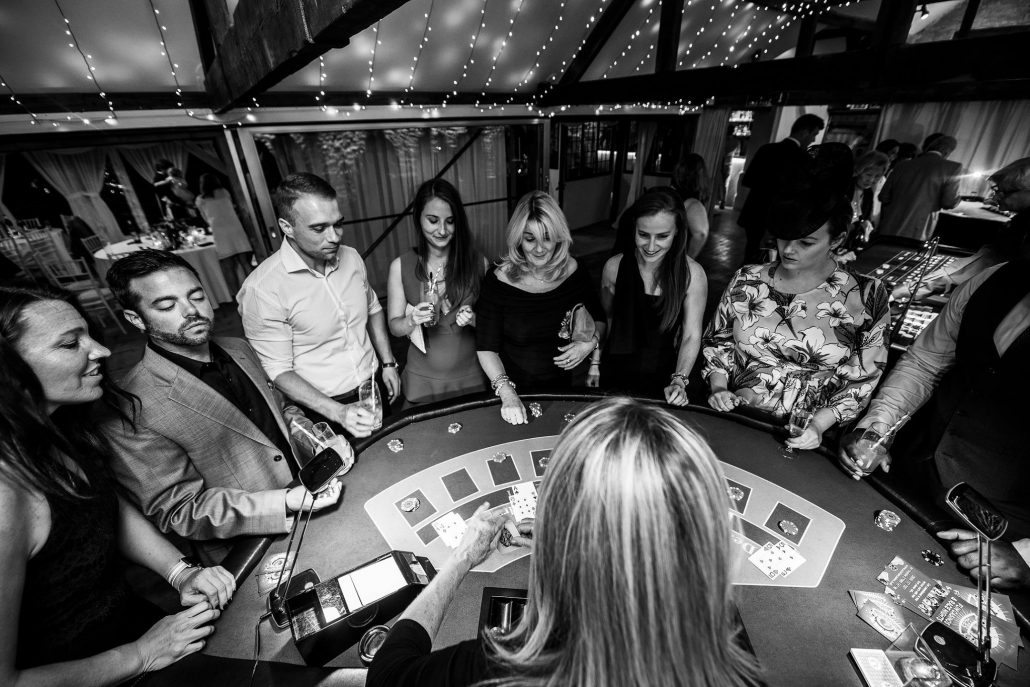 wedding fun casino entertainment somerset birthday party hen do mobile blackjack roulette table hire-1