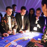Summer Balls Entertainment Graduation Party Ideas Roulette Blackjack Table Hire Fun Casino - 3